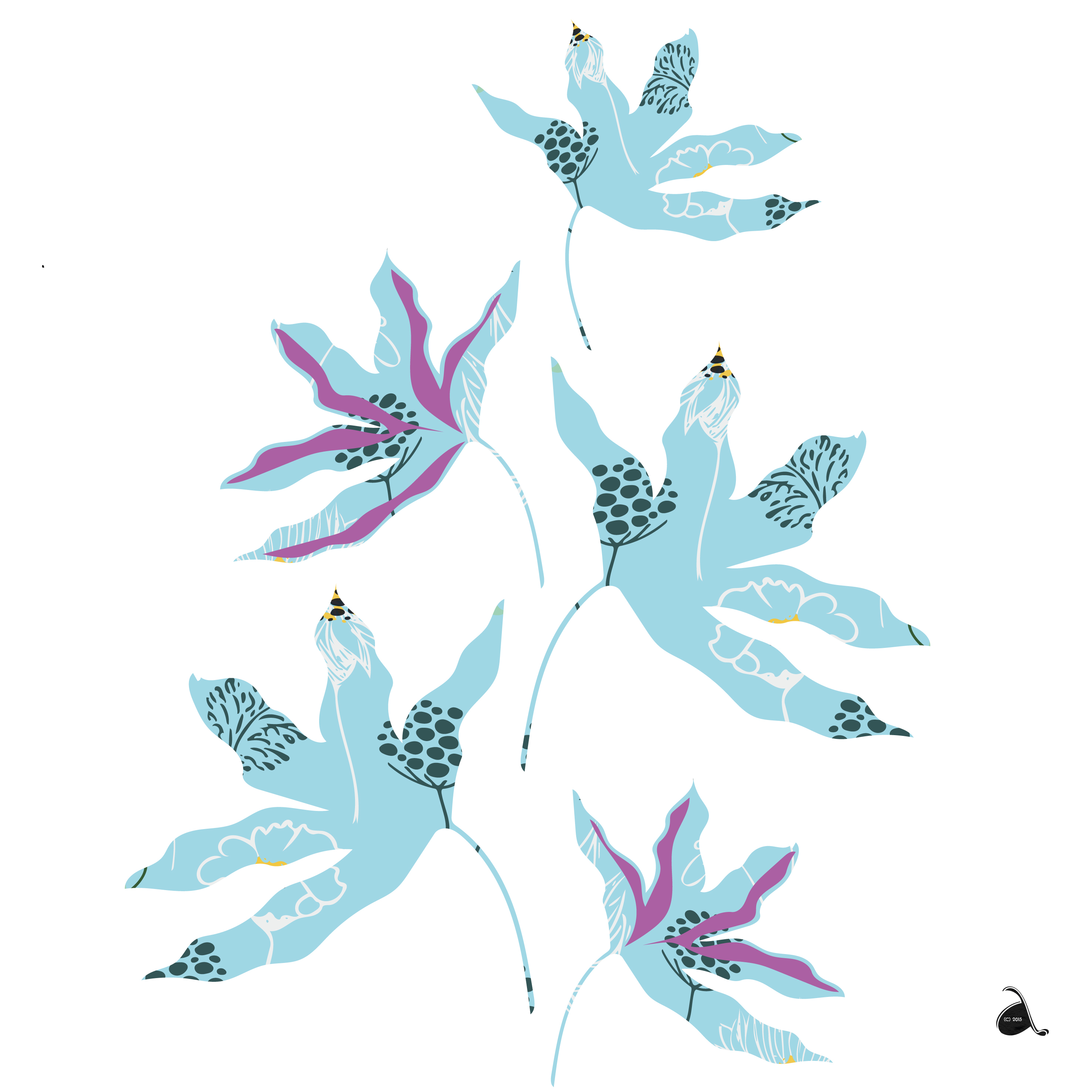 Marguerite Collection Wall Sticker