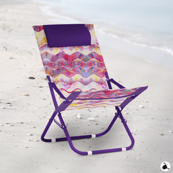 Sun Chair Psychedelic Summer Waves