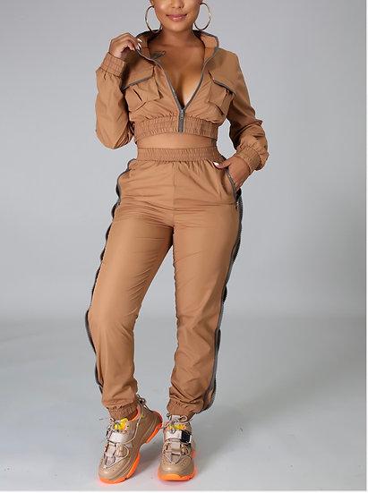 Caramel Cutie Pants Set