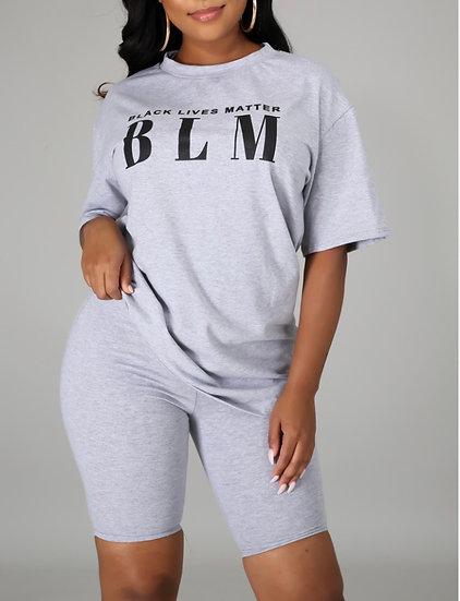 BLM Short Set