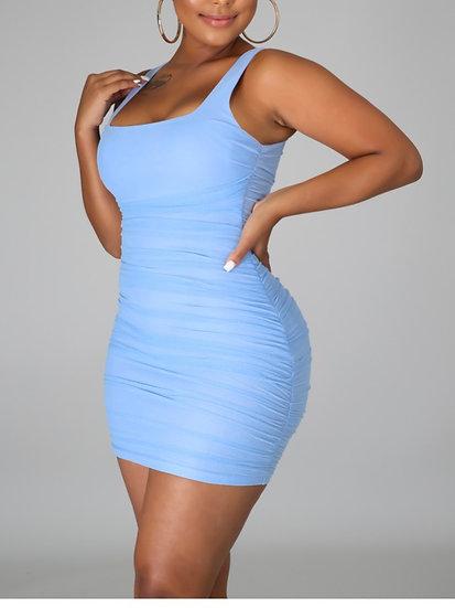 Baby Blue Babe Dress