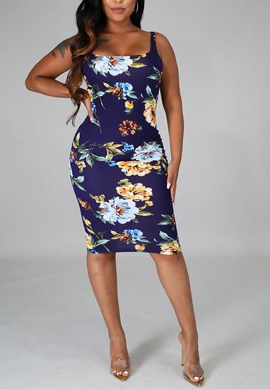 Floral Fit Dress