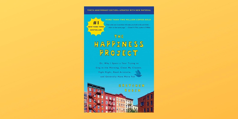 Stories That Heal Book Club: The Happiness Project