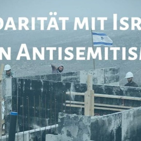 Solidarität zeigen mit Israel in Münster