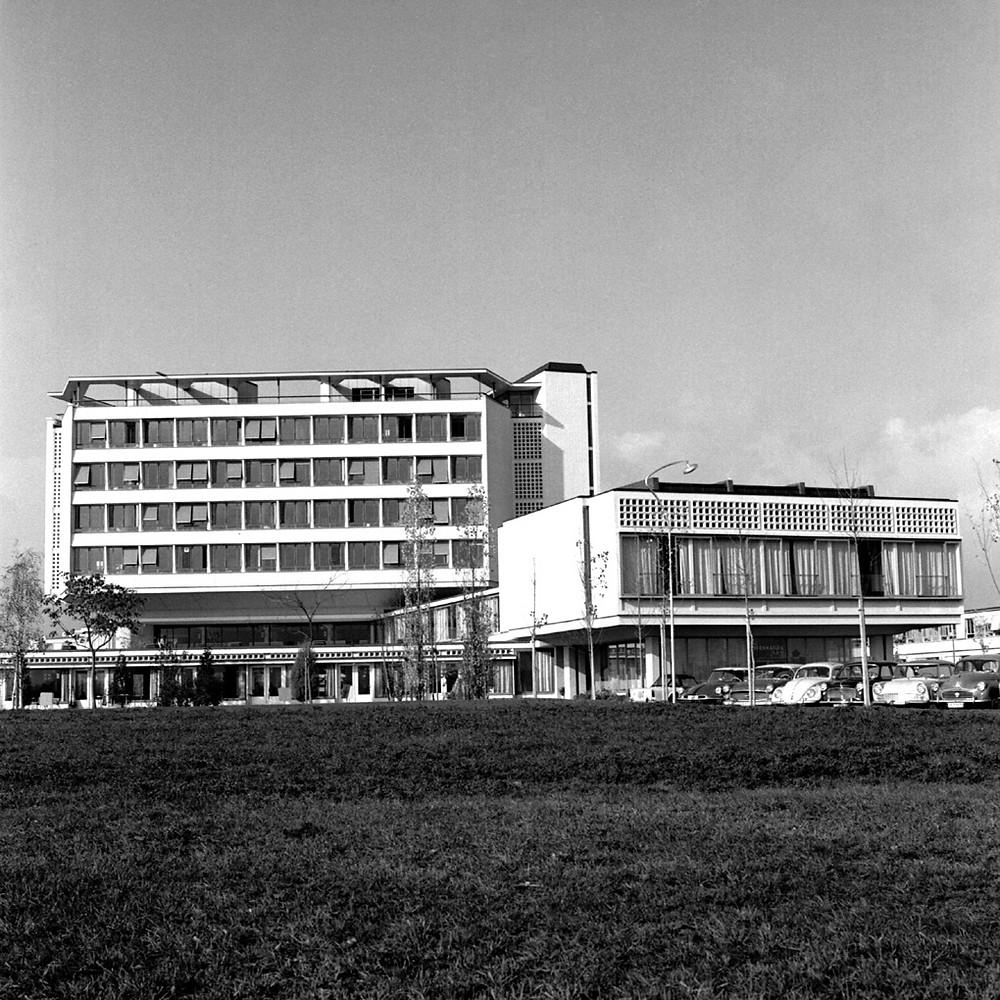 Rudolf et Peter Steiger architectes, 1952-1960