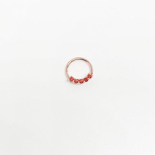 Argolla Circón Rose