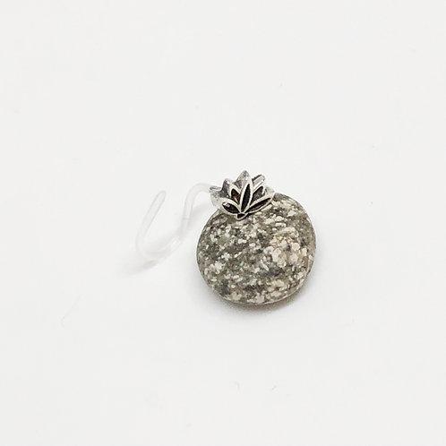 Pin Loto Silver Curl