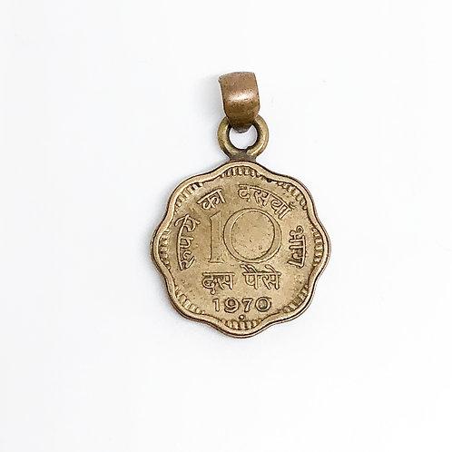 Colgante Coin 10