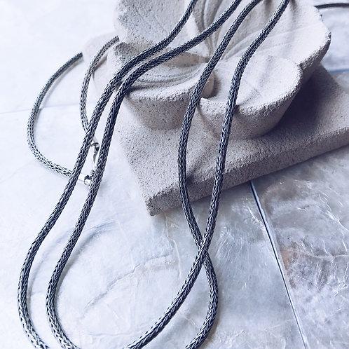Cadenas de plata gruesas