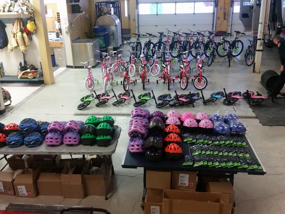Bikes for kids in need