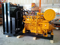 Supplied and installed tropicalized radiator in Oil field power unit