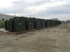 2500 Kva, 480 to 13800 Vector DNY1, Live front, Radial Feed