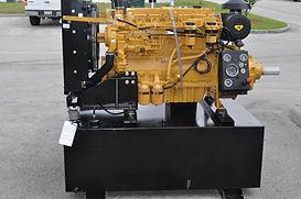 Design fuel tank, PTO, control panel and custom exhaust