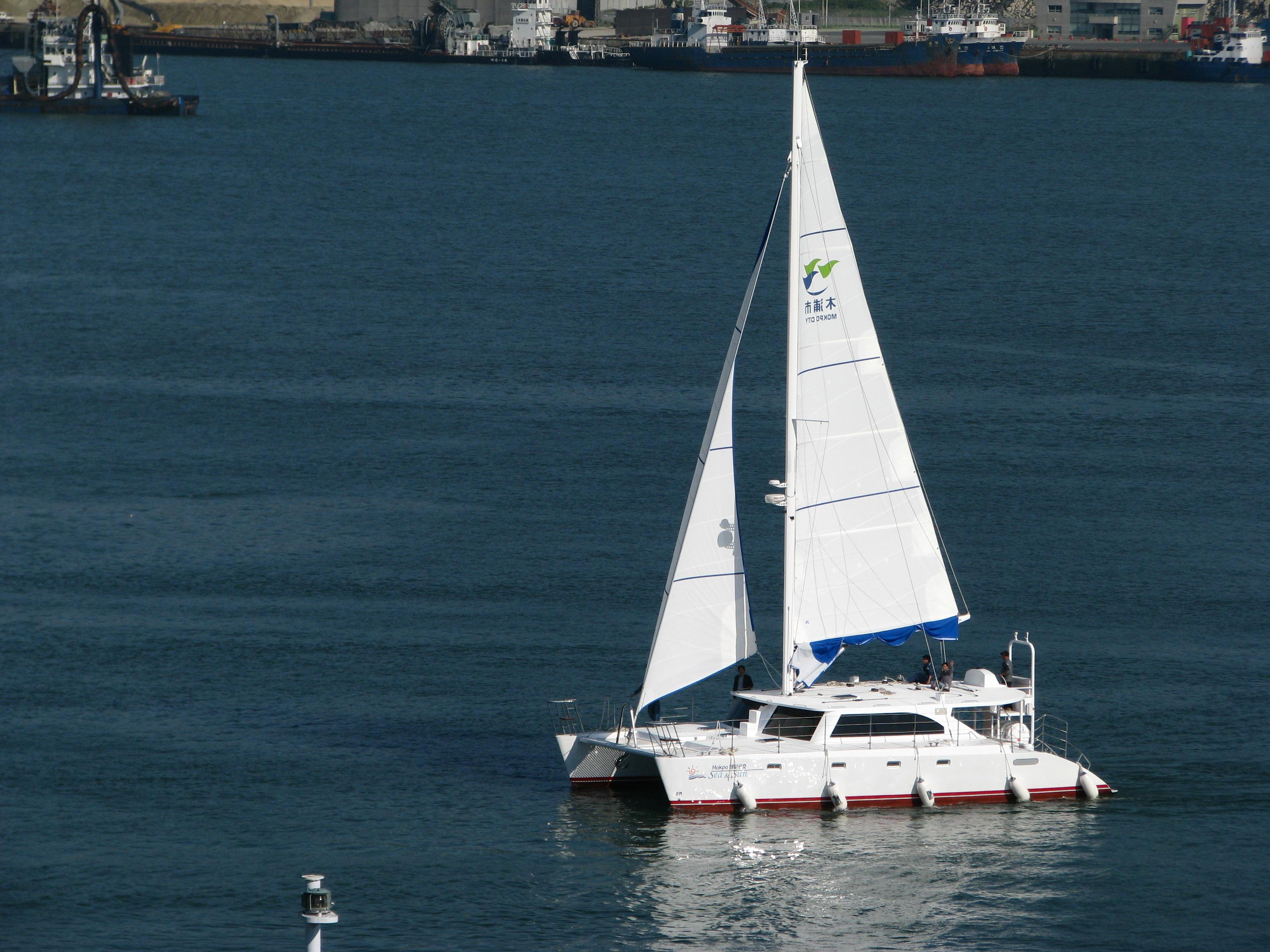 Sail Catamaran 52 yachts in Mokpo