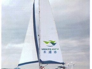 We delivered Sailing Cat 52ft to Mokpo