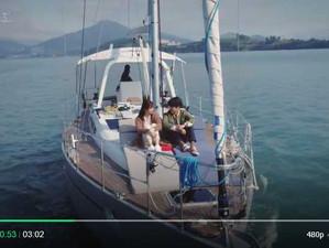 """SBS 드라마 """"사랑의 온도"""" 푸른중공업 요트 출연 / A yachts made by GHI YACHTS was shot through SBS drama &quo"""