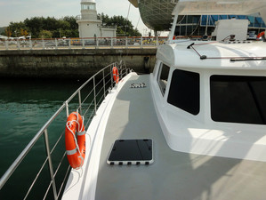 Complete delivery of Sail Cat 55 to Shinan