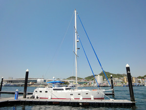 We delivered Pungryu Sailing yacht 40 to vietnam