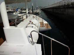 Catamaran 55 in Shinan