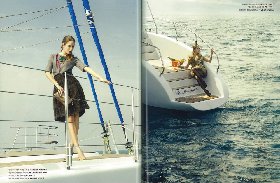 GHI YACHTS in Magazine