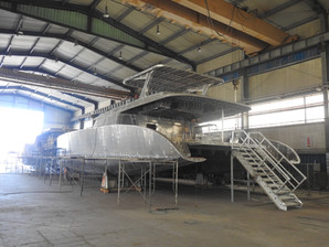 SAIL CATAMARAN 65 X 2 UNITS UNDER CONSTRUCTION