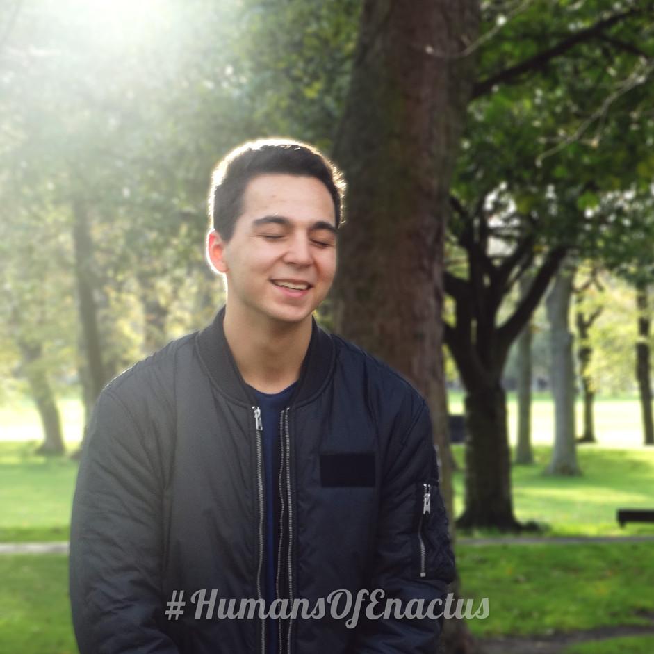 Humans of Enactus - Mark Batunskiy