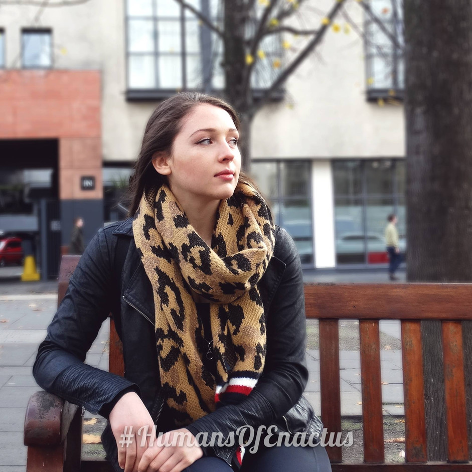 Humans of Enactus - Anja Anderson