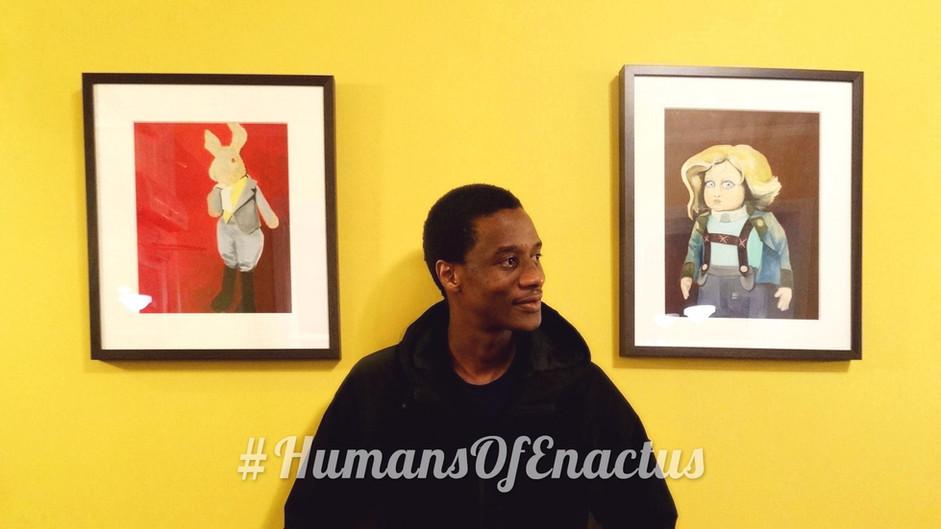 Humans of Enactus - Brian Tinashe