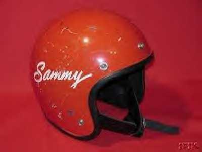 Slammin' Sammy's Helmet!