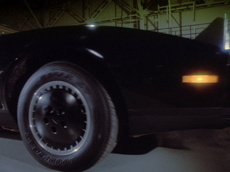 Gold Trim on the Original Pilot KITT?
