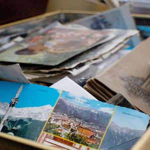 La carte postale des vacances