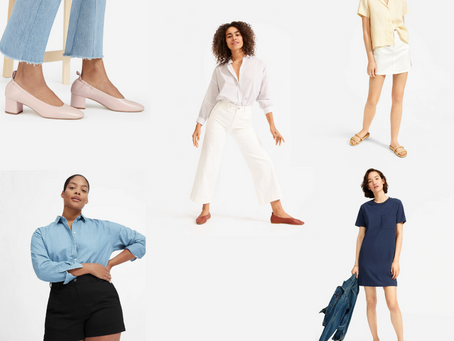 My Curated Everlane Fashion Haul