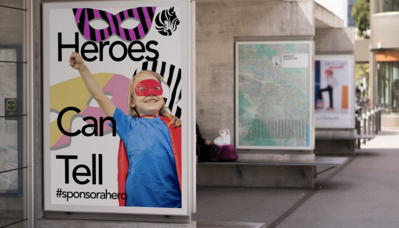 The Zebra Centre Heroes Can Tell Campaign