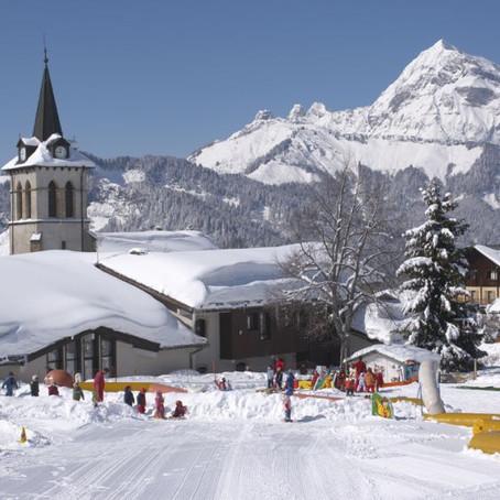 Super ! la neige est arrivée, activité ludique pour les enfants à Crest-voland