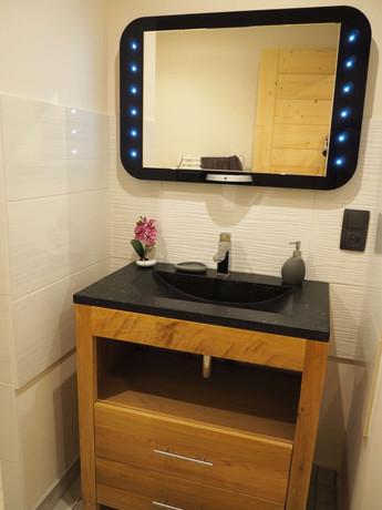 Salle de bain - appartement l'Ourson
