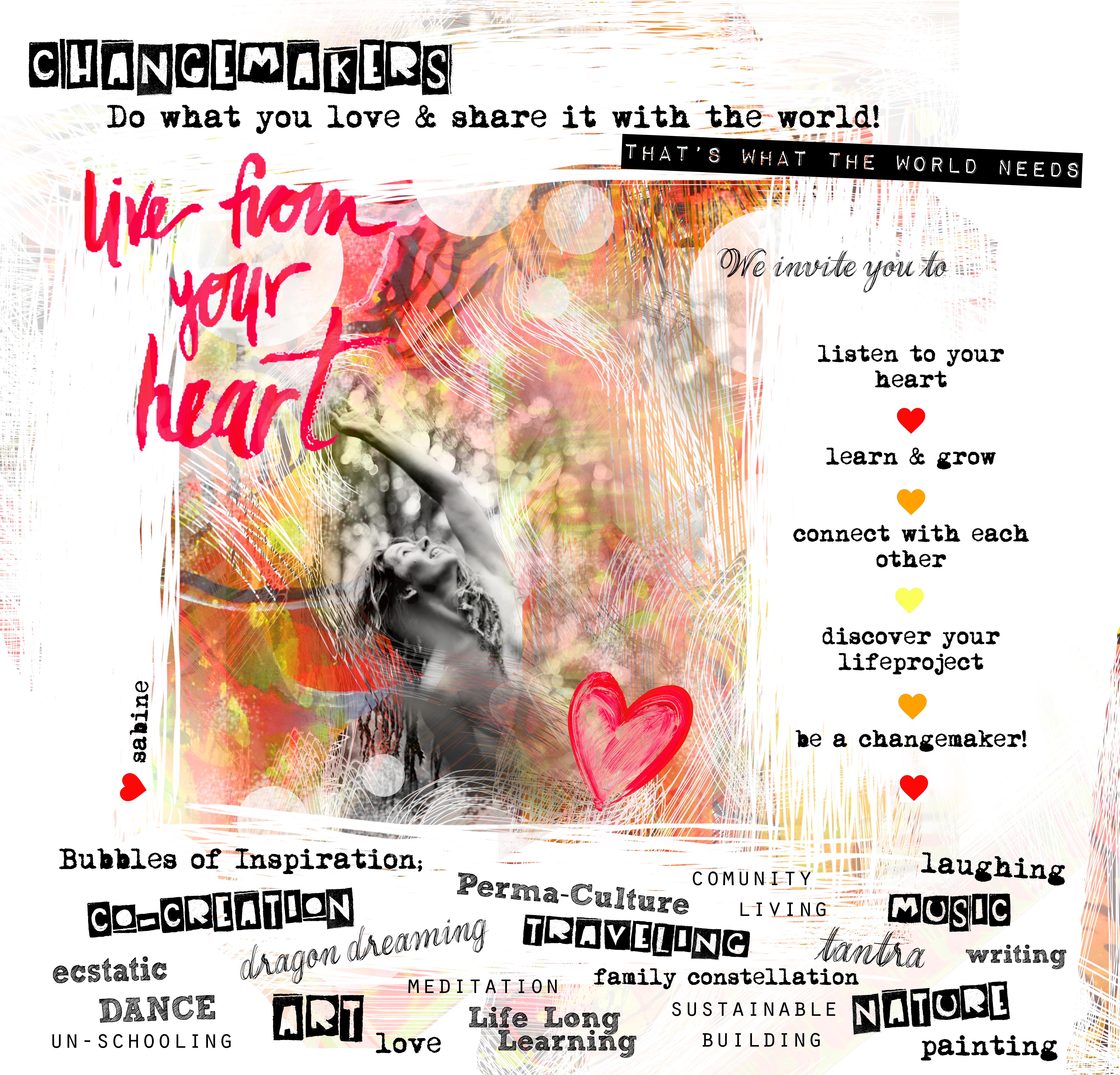 CHANGEMAKER heart