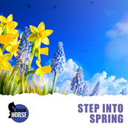Step Into Spring by Robert Hicks