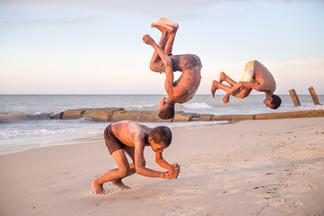 Kids jumping Madagascar