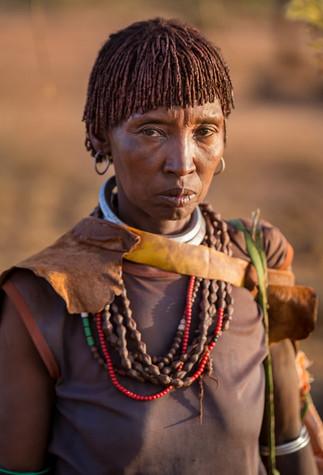 Africa Ethiopia Portrait Hamer Hammer tribe