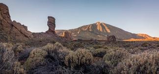 Landscape Tenerife Spain volcano