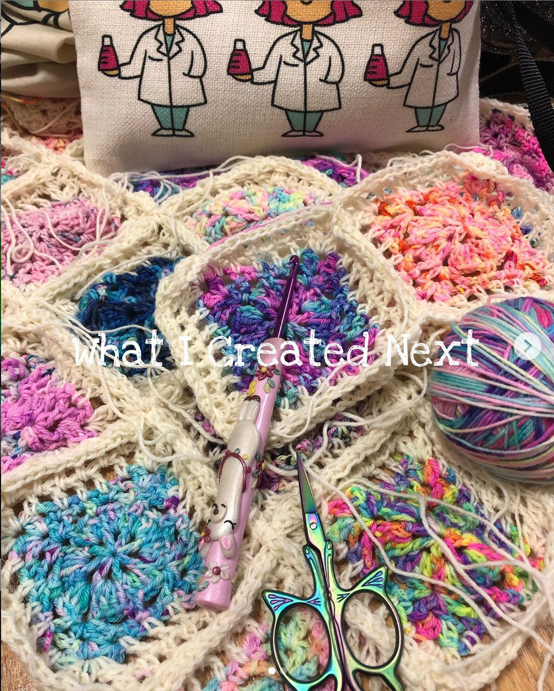 @whaticreatednext Granny Squares