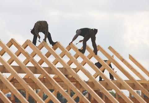職場で屋根職人
