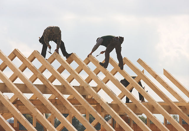 Roofers at Work