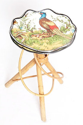 Table d'appoint rotin