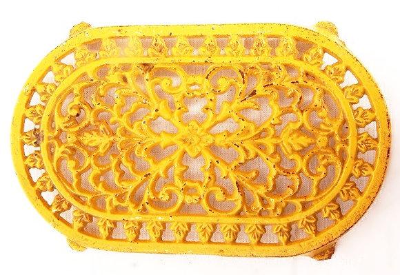 Dessous-de-plat jaune