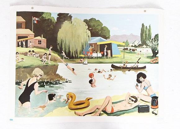 Affiche Fernand Nathan - 1967
