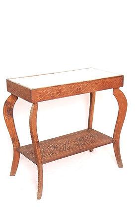 Petite console en bois