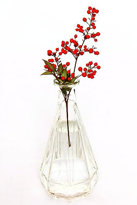 Vase/carafe en verre