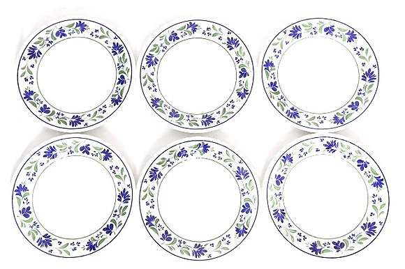Assiettes en céramique