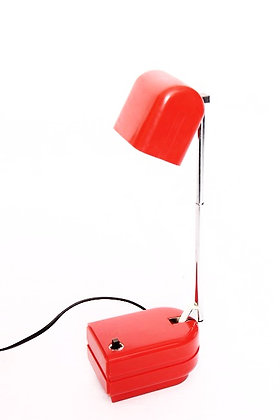 Lampe pliable orange